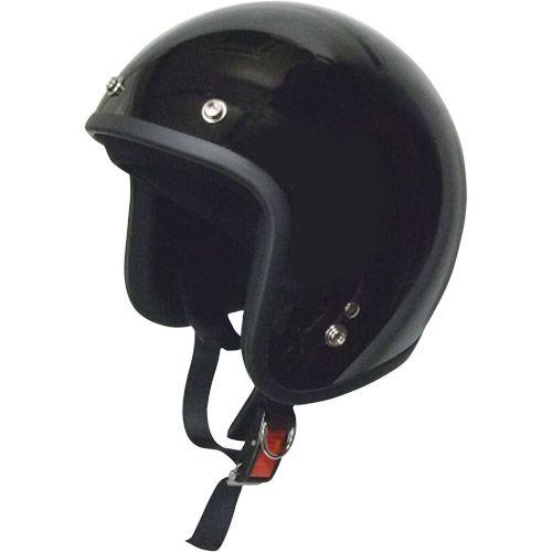 スモールジェットヘルメット ブラック フリー 79122009
