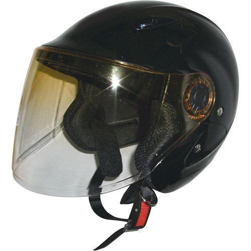 セミジェットヘルメット ブラック フリー 79122014