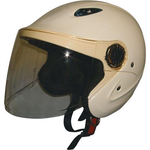 セミジェットヘルメット アイボリー フリー 79122016