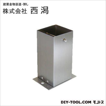 ステンレス装飾柱脚金物ストレート角  A120×B80×C160 SB120