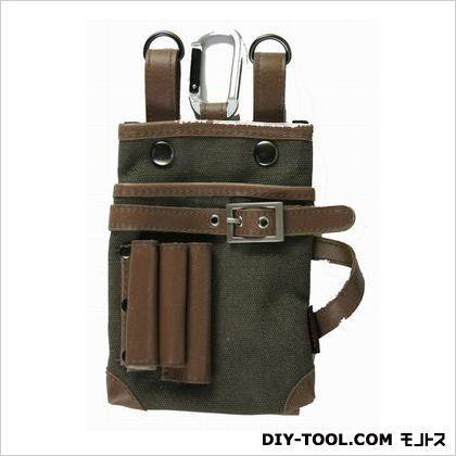ワーカーズレーベル 携帯電話小物入れバッグ H170×W120×D40mm (FAB-5BR)