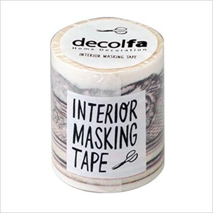 インテリアマスキングテープ フレーム/ゴールド 50mm×8m M3602