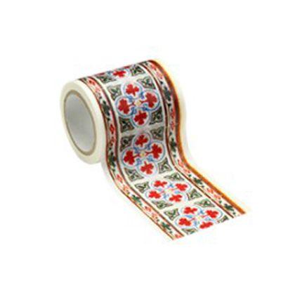 インテリアマスキングテープ タイル/レッド 50mm×8m M3607