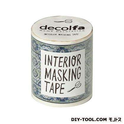 インテリアマスキングテープ タイル/ブルーW 50mm×8m M3608