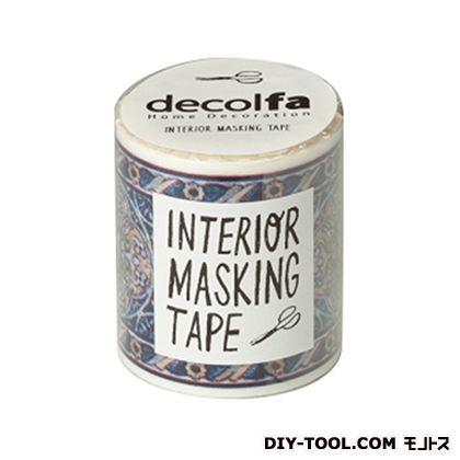 インテリアマスキングテープ タイル/ブルーY 50mm×8m M3609