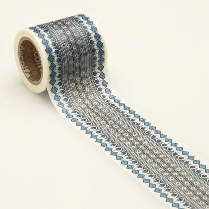 インテリアマスキングテープ チロリアン/ブルー 50mm M3617 1 巻
