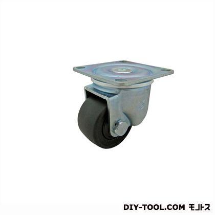 低床超重荷重キャスター強化ナイロン車輪  高さ:92mm THH-65NHB(S 65- 65×38)