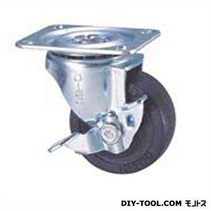 定番中軽量キャスター ゴム車輪  高さ:85mm STC65EMS-1 (C 65- 65×25)