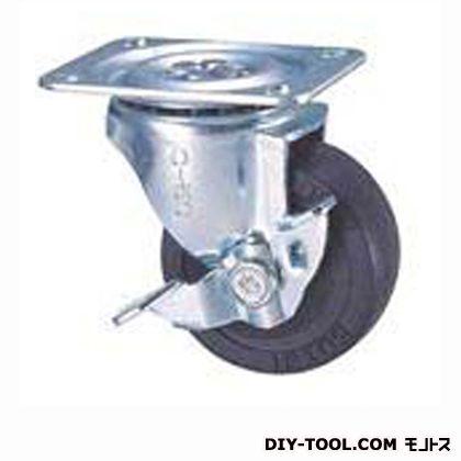 定番中軽量キャスター ゴム車輪  高さ:93mm STC75EMS-1( C 75- 75×25)
