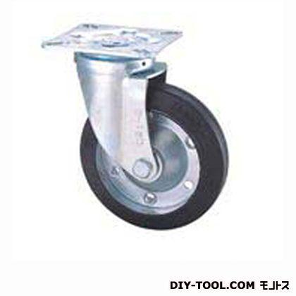 定番中軽量キャスター ゴム車輪 高さ:190mm (STC150CBC(C150-150×40))