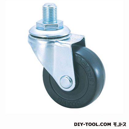 軽量ねじ込みキャスター ゴム車輪   SR40RM M12(- 40×18)