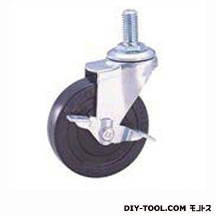 軽量ねじ込みキャスター ゴム車輪 (SEL65RLM12S1(S 65- 65×20))