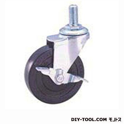 軽量ねじ込みキャスター ゴム車輪   SEL75RLM12S1(S 75- 75×20)