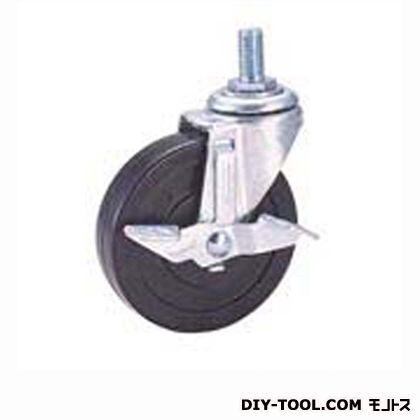 軽量ねじ込みキャスター ゴム車輪   SEL100RLM12S2(S100-100×25