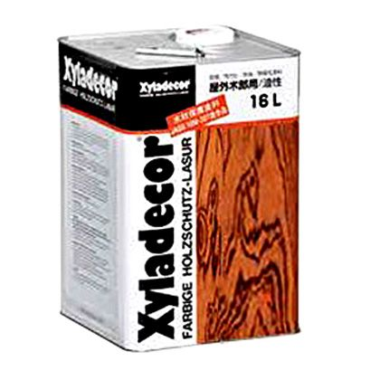 キシラデコール/高性能木材保護着色塗料 ジェットブラック 16L #112