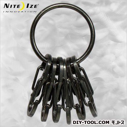 キーリング スチール ブラック (NI02627)