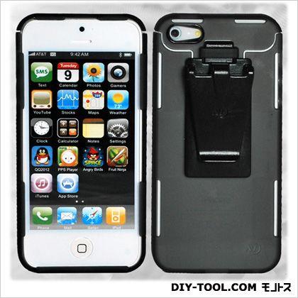 コネクトケース for iPhone5/5S スモーク (NI02638)