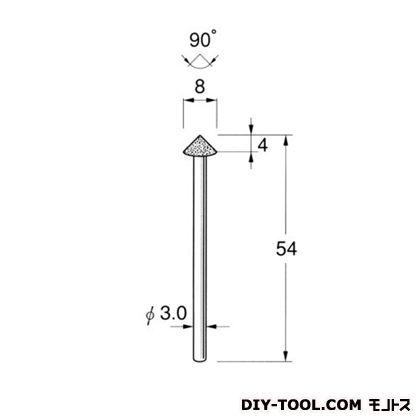 軸付ボラゾン砥石  #200 N5721