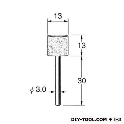 弾性砥石(PVA)  先端径:13粒度:#120 R7342