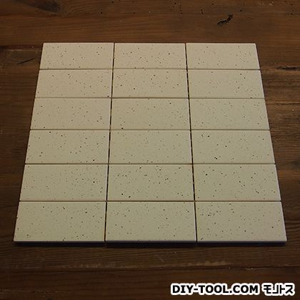 エッグタイルシート(卵の殻と土でできた軽量タイル) 長方形 うずら 3×6P  302mm×302mm 3591757008