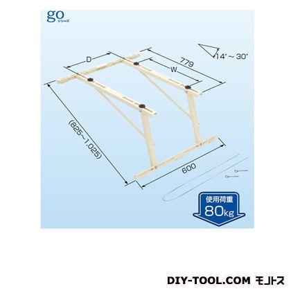 日晴金属 クーラーキャッチャー 傾斜屋根直角置台   C-LG