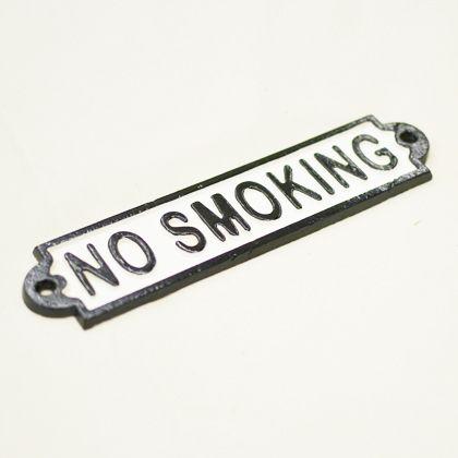 GONGRI アイアンサイン NO SMOKING   DT-2429