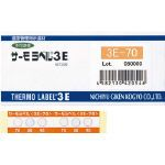 日油技研工業 ニチユ サーモラベル3点表示屋外対応型 不可逆性 130度 3E130 1CS   3E130 1 CS