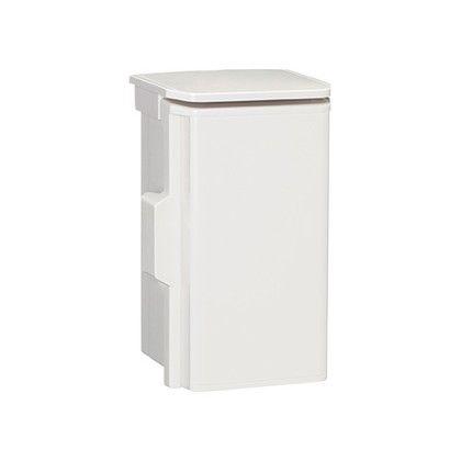 日東工業 プラボックス(屋根付)汎用タイプ() ホワイトグレー 長さ:10cm高さ:20cm幅:10cm OP10-12A