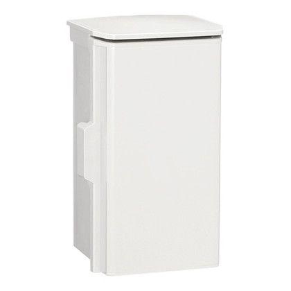日東工業 プラボックス(屋根付)汎用タイプ() ホワイトグレー 長さ:30cm高さ:50cm幅:18cm OP18-35A