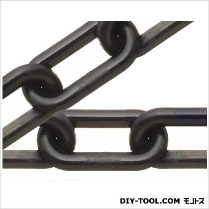 ニッサチェイン/NISSA プラスチック リンク リール巻チェイン 黒 15m R-PW40