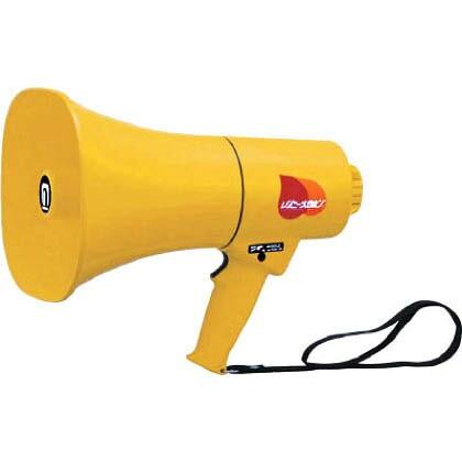 レイニーメガホン15W 防水仕様 ホイッスル音付き(電池別売)  300mm TS-714