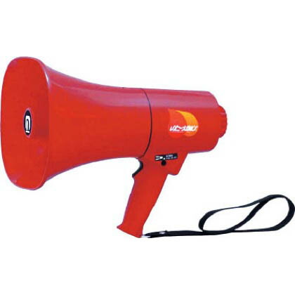 ノボル レイニーメガホン15W 防水仕様 サイレン音付き(電池別売) TS713P 1台   TS713P 1 台