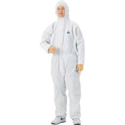 クリーンガードA40 ツナギ服 ホワイト Lサイズ 68723