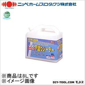水性シリコン下塗りシーラー 透明 8L