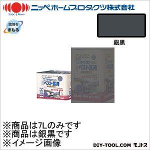 水性シリコンベスト瓦用 銀黒 7L