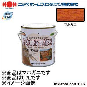 ニッペホーム 水性木部保護塗料 マホガニ 0.7L 04