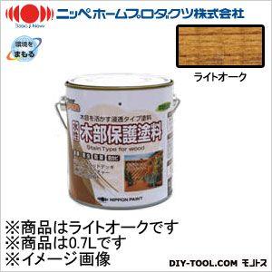 ニッペホーム 水性木部保護塗料 ライトオーク 0.7L 05