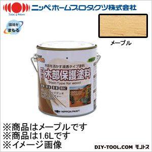 ニッペホーム 水性木部保護塗料 メープル 1.6L 01
