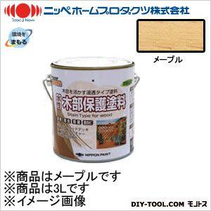 ニッペホーム 水性木部保護塗料 メープル 3L 01