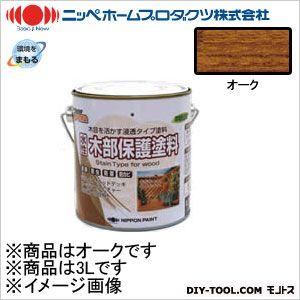 水性木部保護塗料 オーク 3L 06