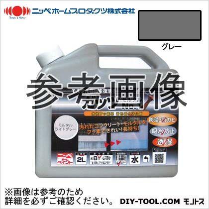 ガッツモルタルNO.1 水性フッ素系 着色吸水防止剤 グレー 2kg