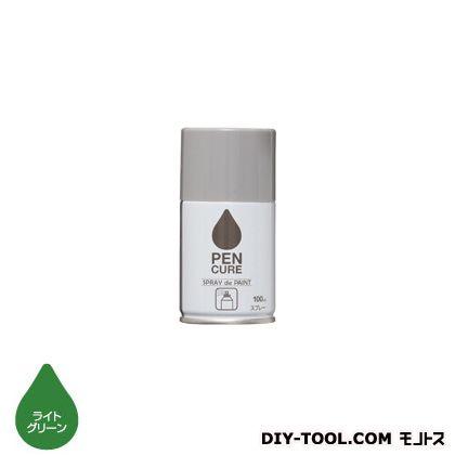 ペンキュアSPRAYdePAINT水性スプレー塗料 ライトグリーン 100ml