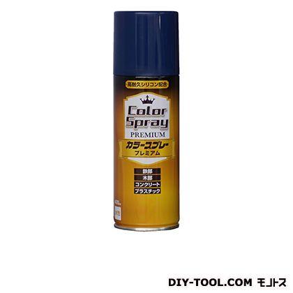 ニッペ カラースプレープレミアム(水性スプレー塗料) ブルー 400ML