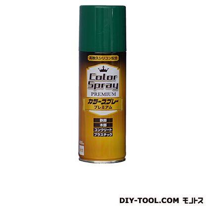 ニッペ カラースプレープレミアム(水性スプレー塗料) グリーン 400ML