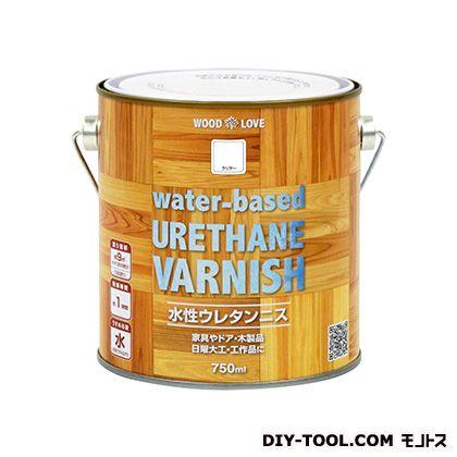 WL水性ウレタンニス クリヤー 750ml