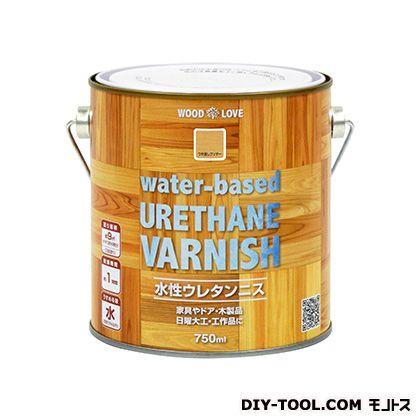 WL水性ウレタンニス つや消しクリヤー 750ml
