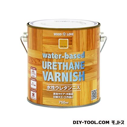 WL水性ウレタンニス ナチュラル 750ml