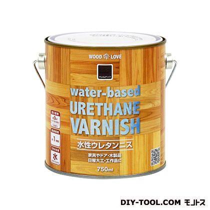 WL水性ウレタンニス ウォルナット 750ml