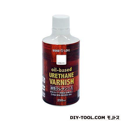 WL油性ウレタンニス つや消しクリヤー 250ml