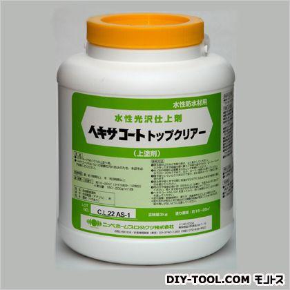 ヘキサコートNO.101トップクリアー 水性光沢仕上剤  3kg